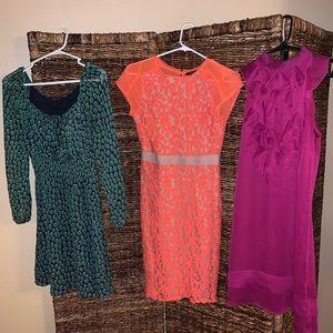 Lot of dresses